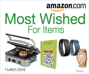 Amazon Most Wished for Items